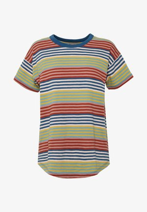 SORREL WHISPER CREW IN BABY TEE - T-shirts med print - english breakfast/greek gold