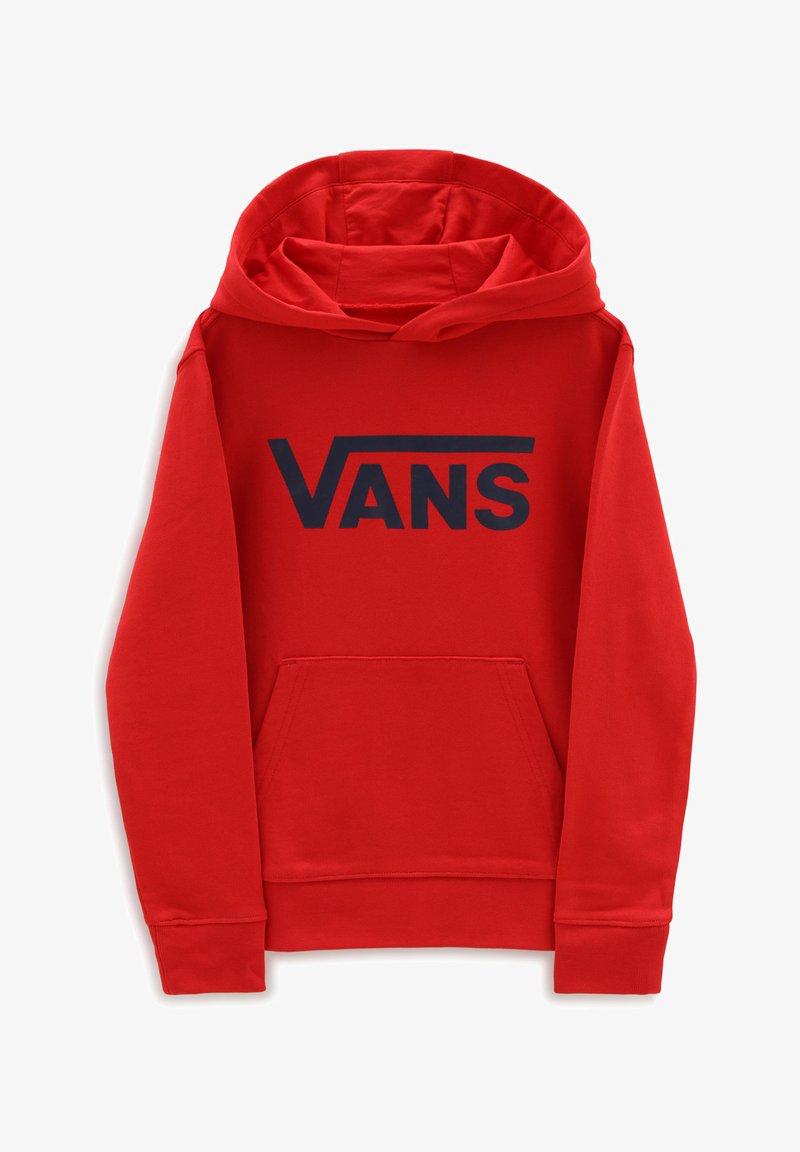 Vans - BY VANS CLASSIC PO HOODIE FT KIDS - Sweat à capuche - high risk red