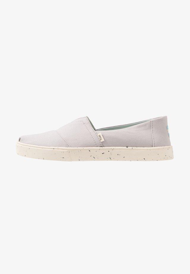 Scarpe senza lacci - light grey