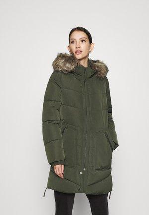 ONLROONA QUILTED COAT - Zimní kabát - rosin
