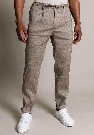 MARATHON - Trousers - taupe