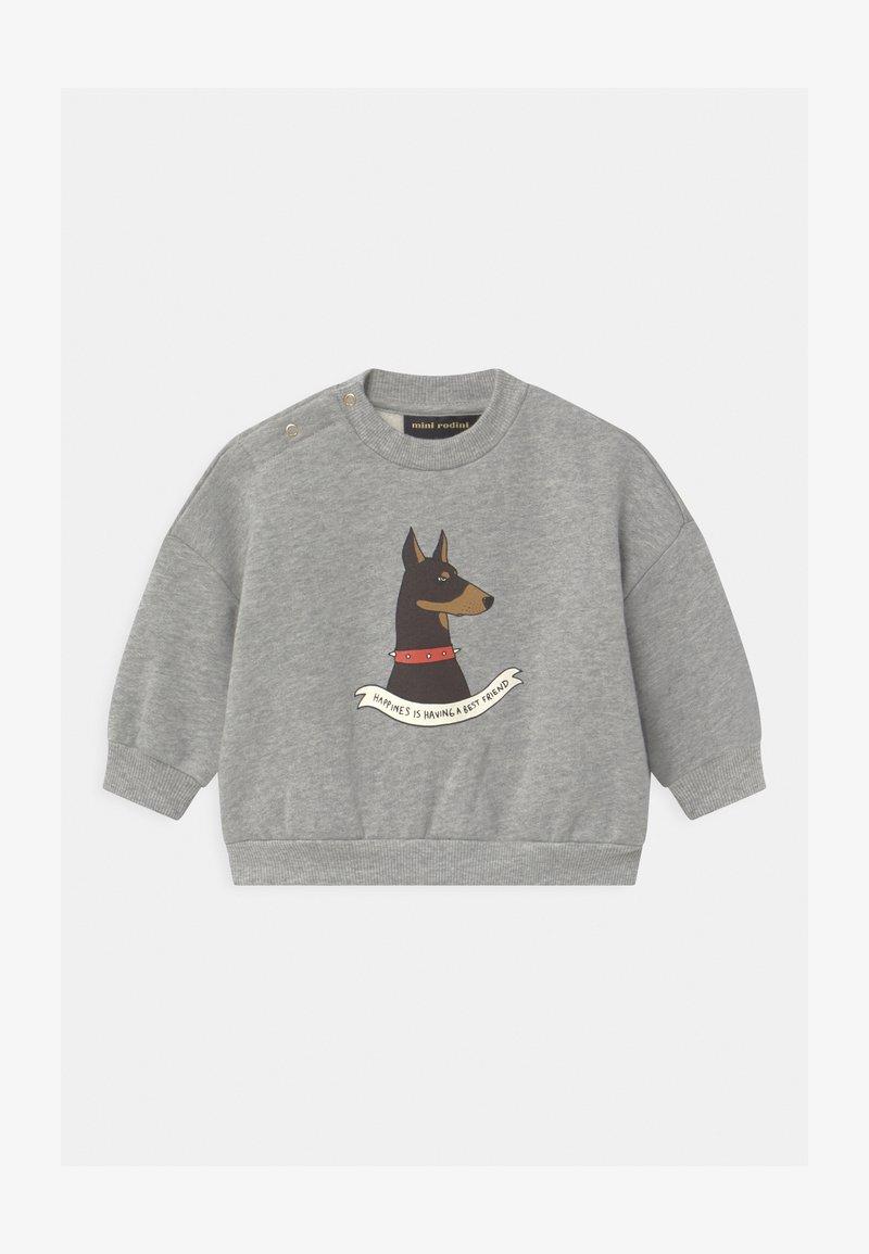 Mini Rodini - DOBERMAN UNISEX - Sweatshirt - grey melange