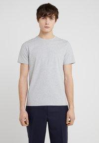 Filippa K - TEE - Basic T-shirt - light grey - 0