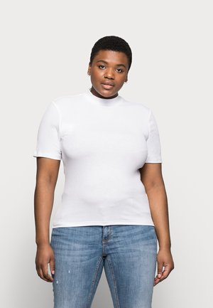 PCBIRDIE TNECK - Basic T-shirt - bright white