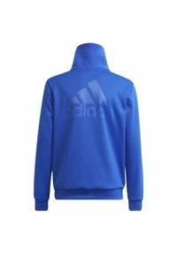 adidas Performance - DESIGNED TO MOVE OBERTEIL - Zip-up sweatshirt - blue - 1