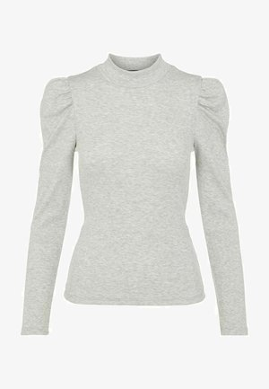 GERIPPT - Long sleeved top - light grey melange