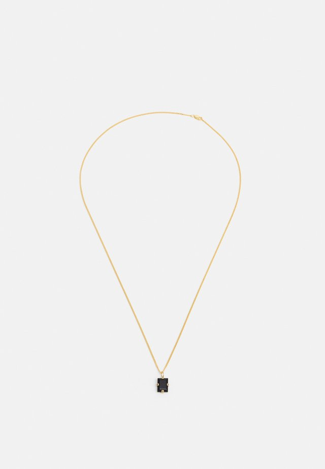 LENNOX PENDANT NECKLACE UNISEX - Ketting - black