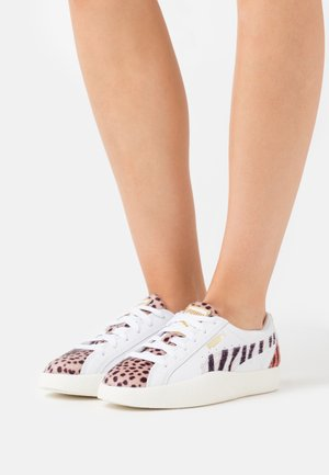 LOVE CATS  - Zapatillas - white/pale khaki