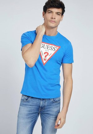 ORIGINAL LOGO - T-shirt con stampa - himmelblau