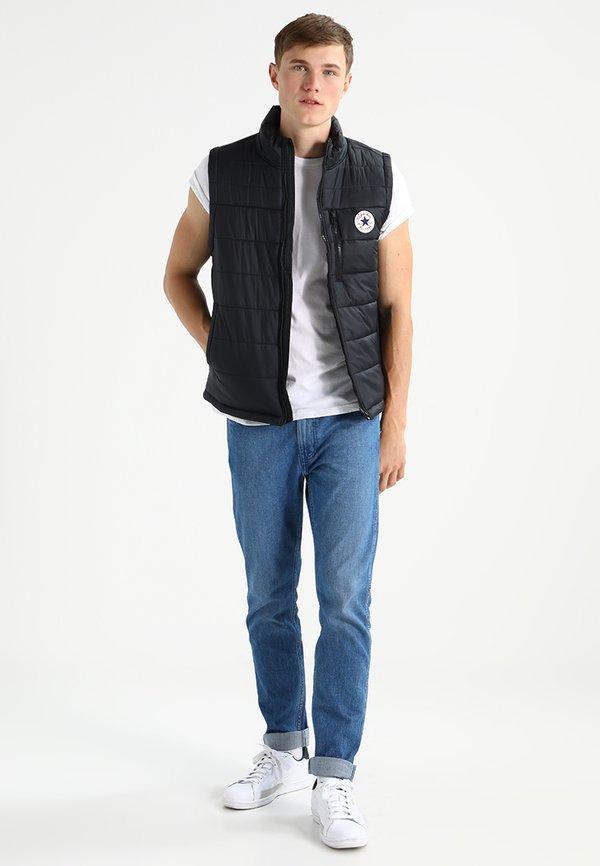 Hollister Co. CREW CHAIN 3 PACK - T-shirt basic - white/grey/navy/granatowy Odzież Męska DUDX