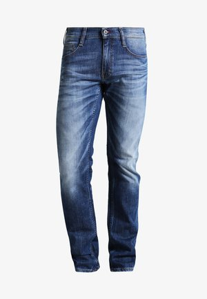 OREGON TAPERED - Jeans fuselé - light scratched used