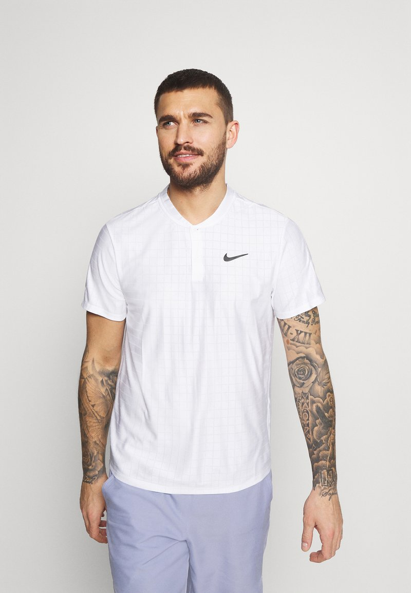 Nike Performance - Triko spotiskem - white/black