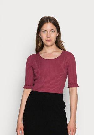 ESSENTIAL - T-shirt basic - marron