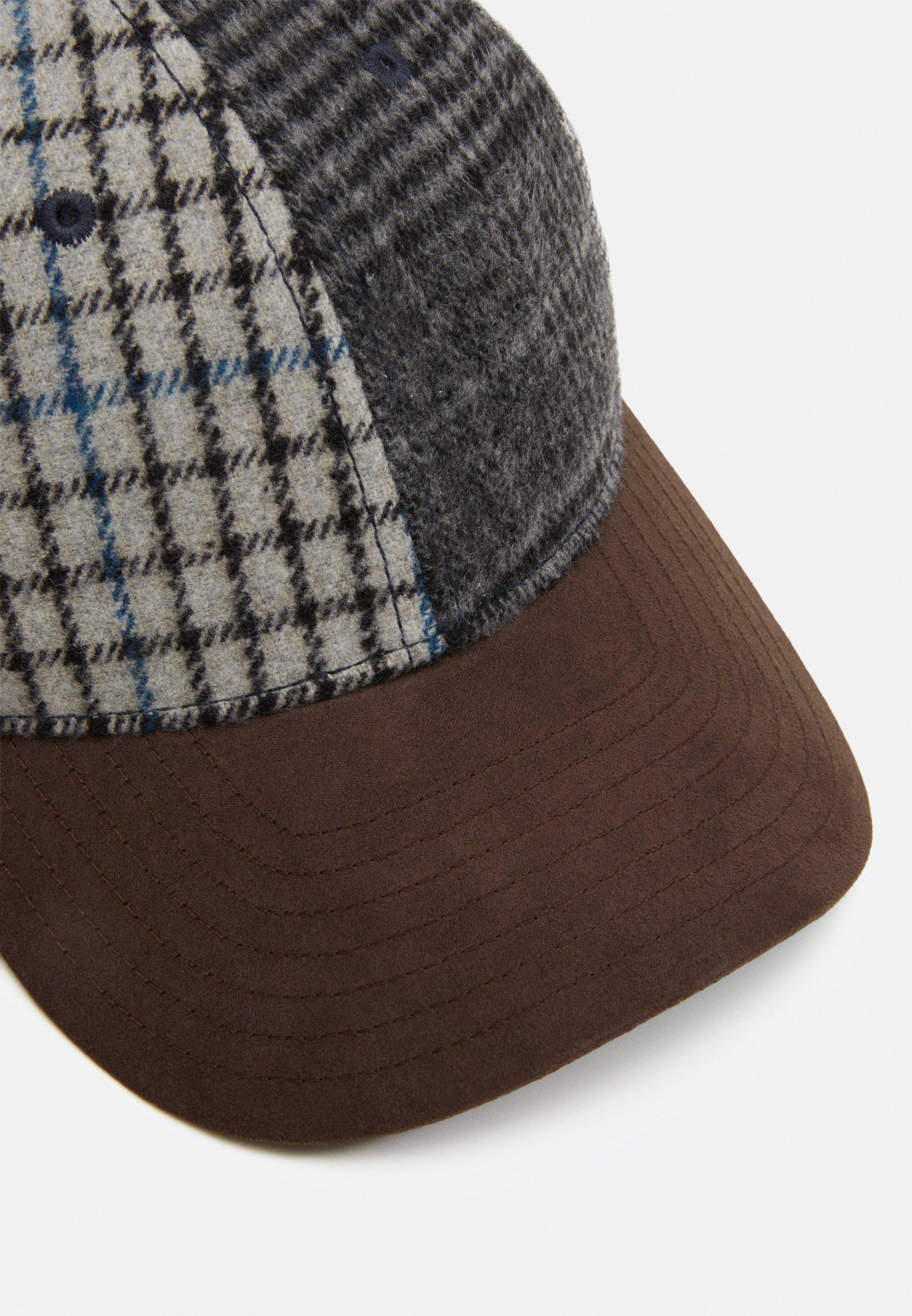 Hackett London Patchwork - Cap Grey/multi/grau