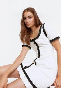 Uterqüe - Day dress - white - 3