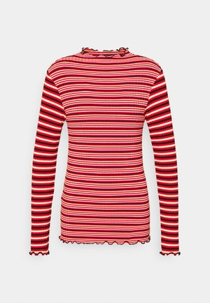 STRIPE MIX TRUTTE - Long sleeved top - red multi