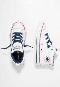 Converse - CHUCK TAYLOR ALL STAR STREET MID - Høye joggesko - navy/white - 0