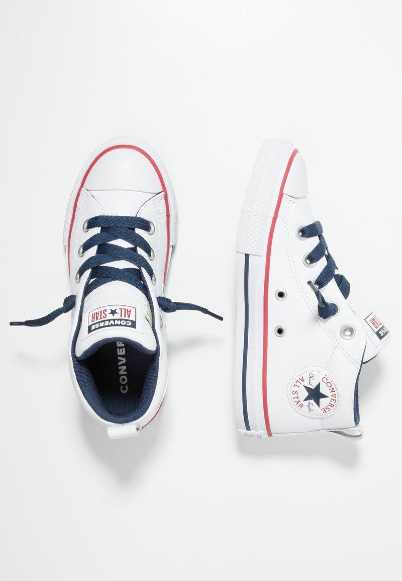Converse - CHUCK TAYLOR ALL STAR STREET MID - Høye joggesko - navy/white