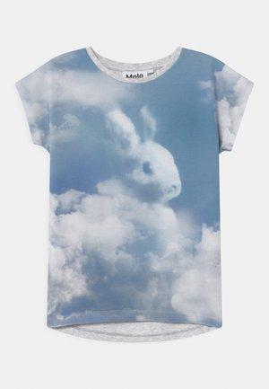 RAGNHILDE - Print T-shirt - light blue
