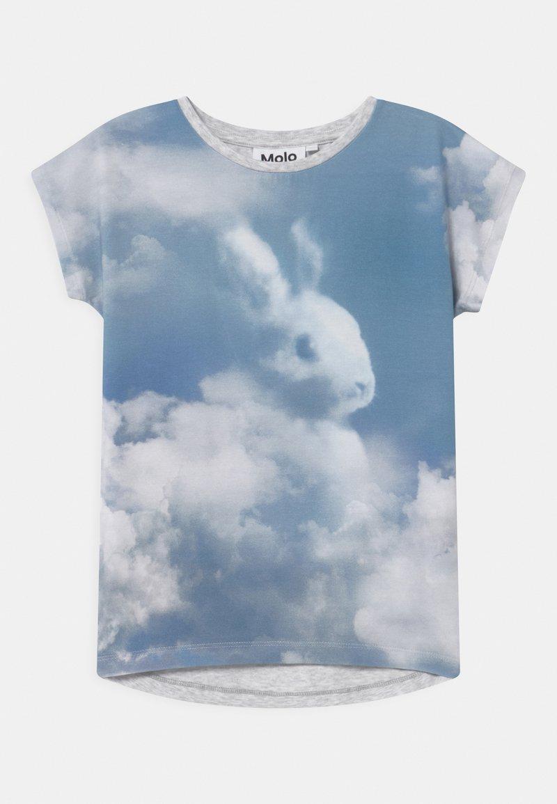 Molo - RAGNHILDE - T-Shirt print - light blue