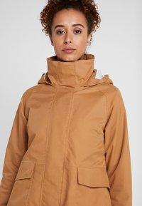 Didriksons - UNN WOMENS JACKET - Outdoor jacket - almond brown - 4