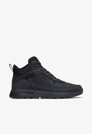 High-top trainers - jet black