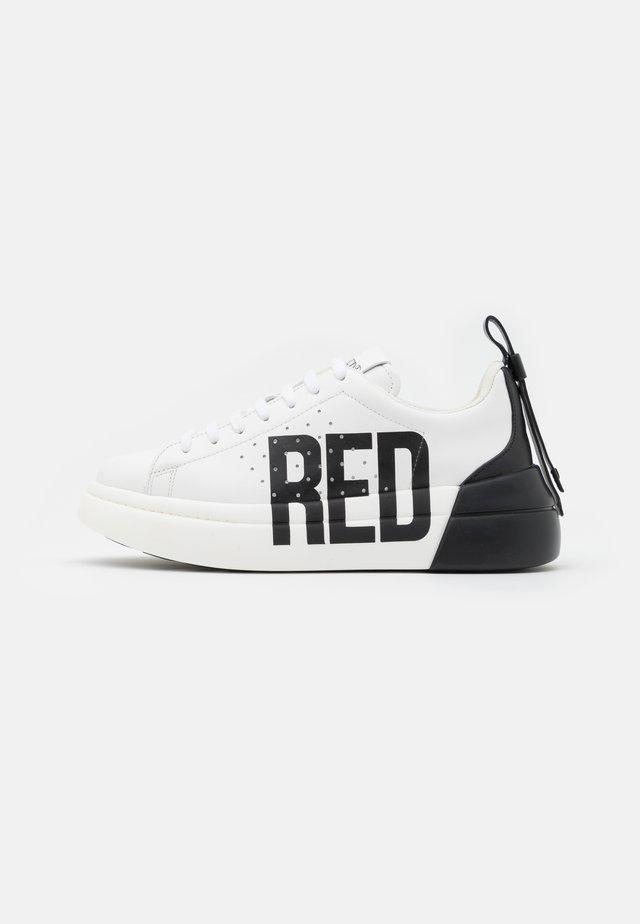 Sneakersy niskie - bianco/nero