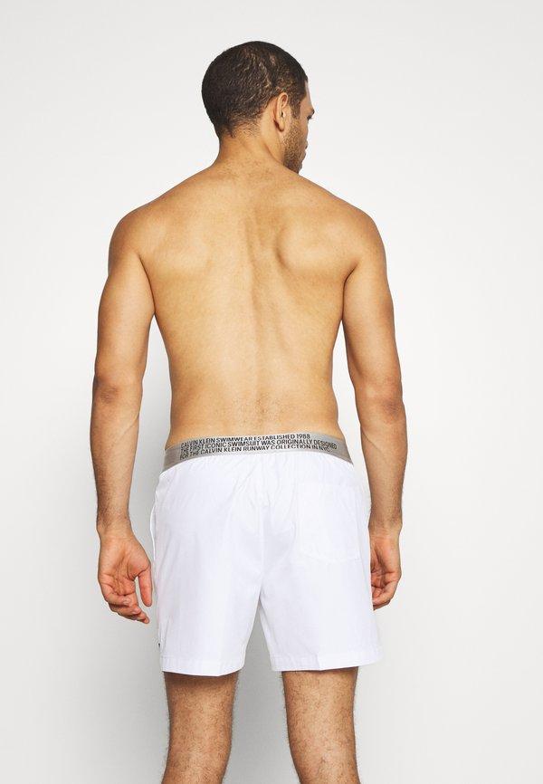Calvin Klein Swimwear Szorty kąpielowe - white/biały Odzież Męska PCNG