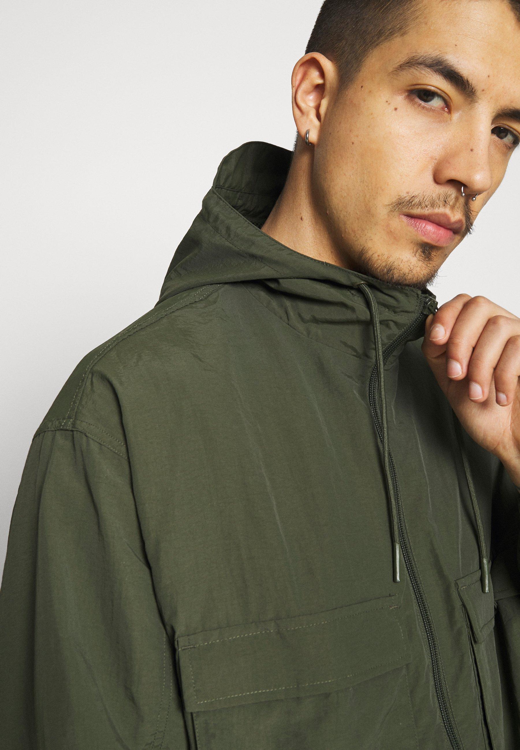 Men OVERSIZED ANORAK - Summer jacket