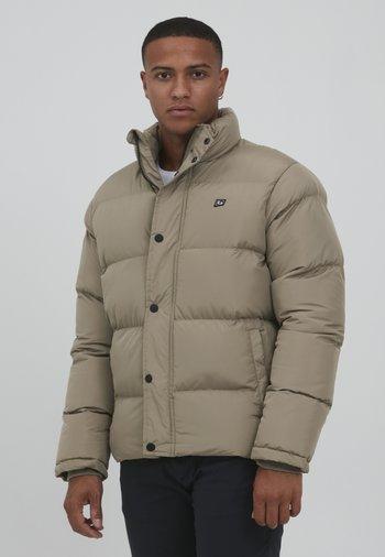 Gewatteerde jas - lead gray