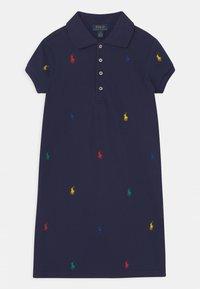 Polo Ralph Lauren - SCHIFFLI DAY - Denní šaty - french navy - 0