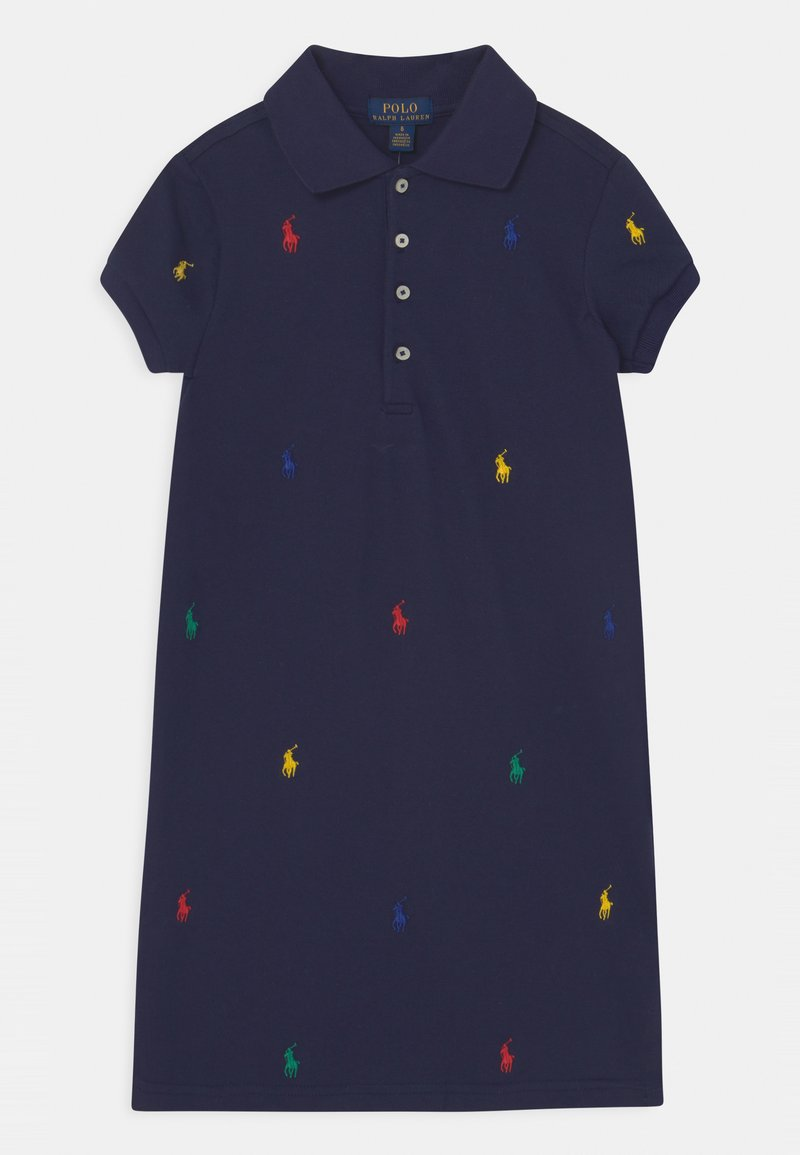 Polo Ralph Lauren - SCHIFFLI DAY - Denní šaty - french navy