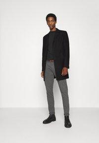 Solid - JACKET FAYETTE - Classic coat - black - 1
