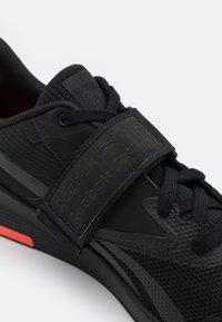 Reebok - LIFTER PR II - Sports shoes - core black/night black - 5