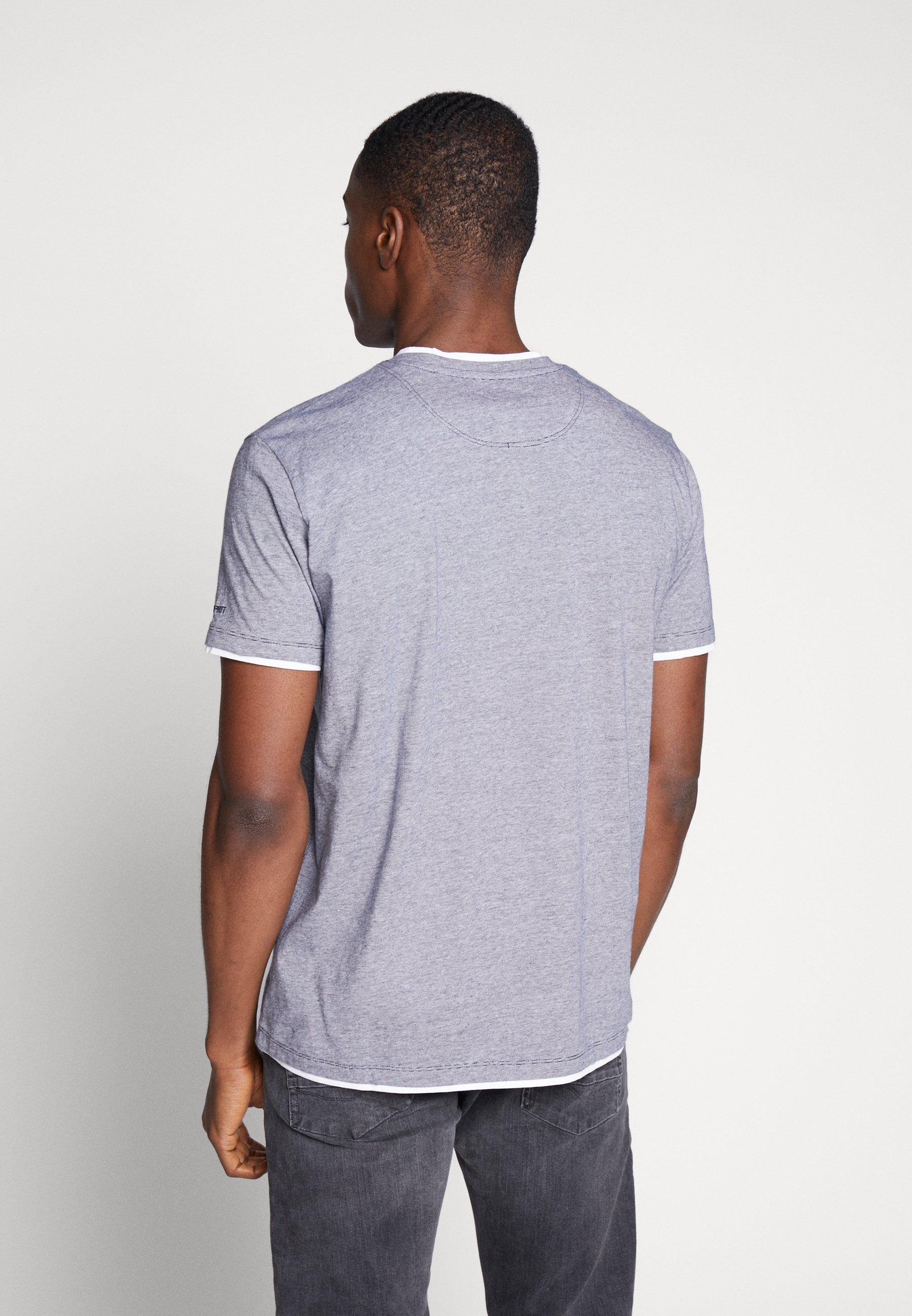 Esprit Print T-shirt - navy QY9ut
