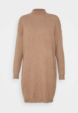 ONLPRIME DRESS - Jumper dress - brownie melange