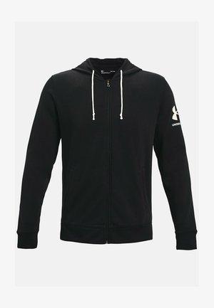 RIVAL TERRY - Zip-up hoodie - black