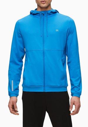 veste en sweat zippée - imperial blue