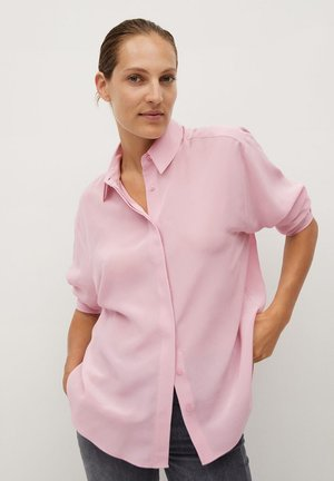 MADE - Button-down blouse - rosa