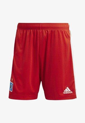 HAMBURGER SV 20/21 HOME SHORTS - Sports shorts - red