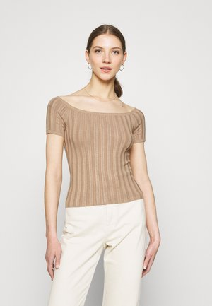 T-shirt print - camel