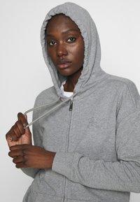 Napapijri - BICCARI - Zip-up hoodie - med grey mel - 3