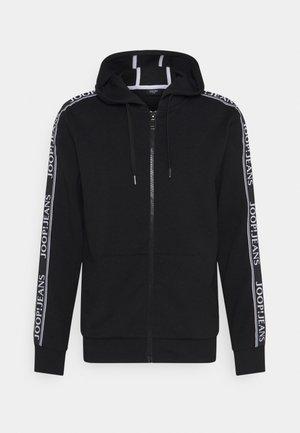 AUGUSTIN - Zip-up sweatshirt - black