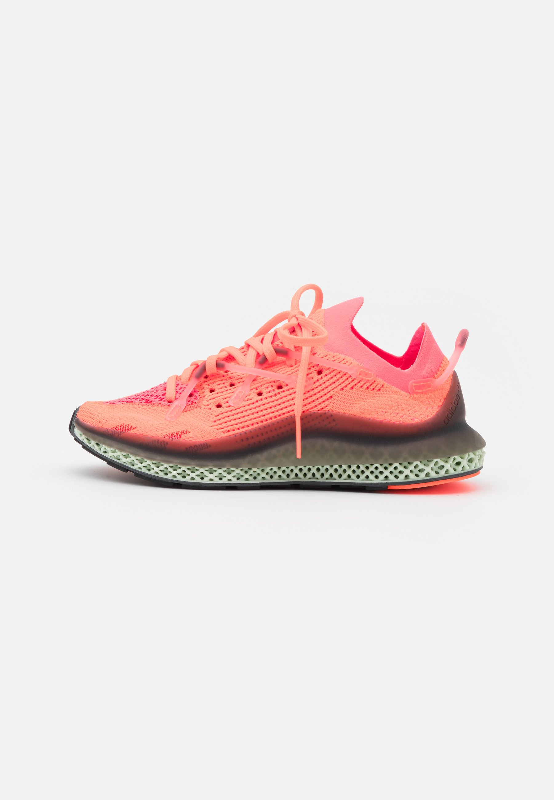 orange adidas trainers