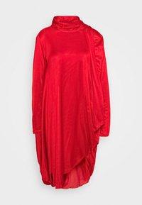 MM6 Maison Margiela - Jersey dress - red - 3