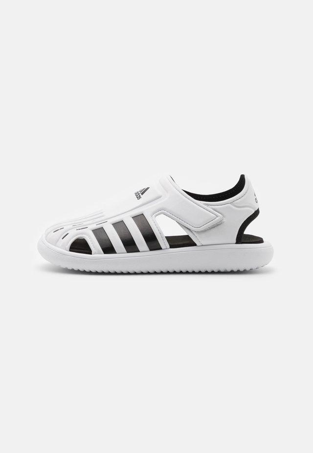 WATER UNISEX - Chanclas de baño - footwear white/core black