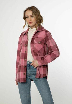 NXG CELESTAH - Button-down blouse - berry melee