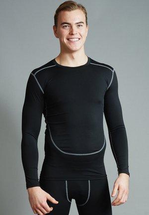 BALLER - Langærmede T-shirts - black