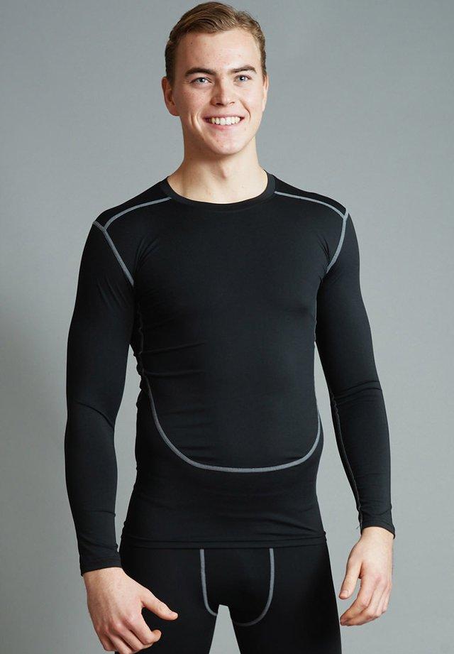 BALLER - Långärmad tröja - black