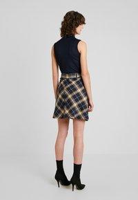edc by Esprit - SOFT - A-line skirt - navy - 2